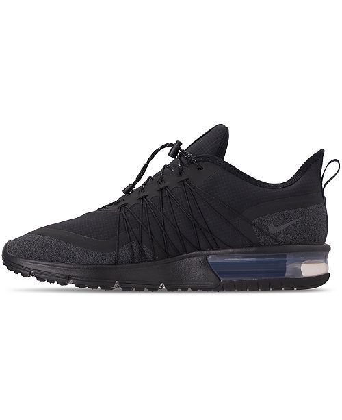 hot sale online c8eb0 1ed16 ... Nike Men s Air Max Sequent 4 Shield Running Sneakers from Finish Line  ...