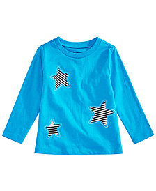 First Impressions Baby Boys Stars Graphic Cotton T-Shirt, Created for Macy's