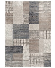 "KM Home Waterside Pier Multi 5'3"" x 7'7"" Area Rug"