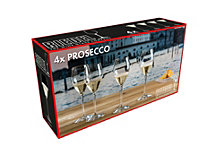 Riedel Prosecco Glasses, Set of 4