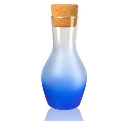 Frost Shadow 35 oz. Blue Carafe