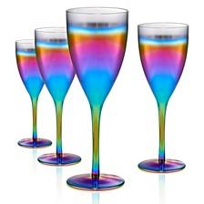 Artland Rainbow 12oz. Goblet, Set of 4.