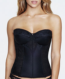 Dominique Colette Lace Corset Strapless Longline 8949