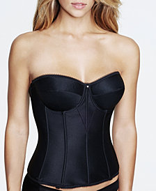 Dominique Juliette Satin Corset Strapless Longline 8950