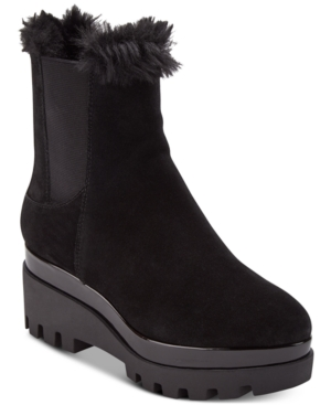 Dkny Bax Wedge Boots,...