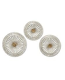 Imax Jennings Metal Discs - Set of 3