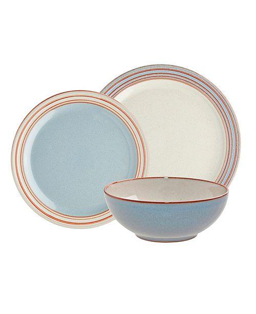 51fe45670ef7 Denby Heritage Terrace 12-PC Dinnerware Set & Reviews - Dinnerware ...