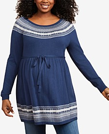 Plus Size Babydoll Sweater