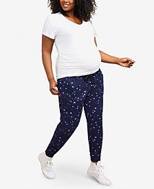 Motherhood Maternity Plus Size Jogger Pants