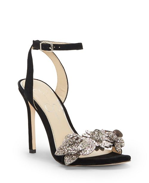 826849796cea Jessica Simpson Jazzy Embellished Dress Sandals   Reviews - Home ...