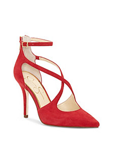 Jessica Simpson Wynnley Strappy Detail Dress Pumps