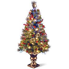 "National Tree 48"" Fiber Optic Crestwood Spruce Tree"
