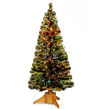 "National Tree 72"" Fiber Optic Radiance Fireworks Tree"