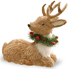 "National Tree 13"" Resting Reindeer"