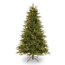 National Tree 7 .5' Victoria Fir Tree with 600 Clear Lights