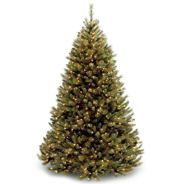 National Tree Company National Tree Rocky Ridge Medium Full Body Tree With 750 Clear Lights