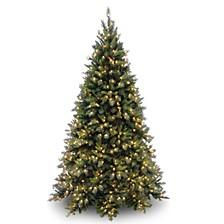 National Tree Tiffany Medium Fir Tree With 700 Clear Lights