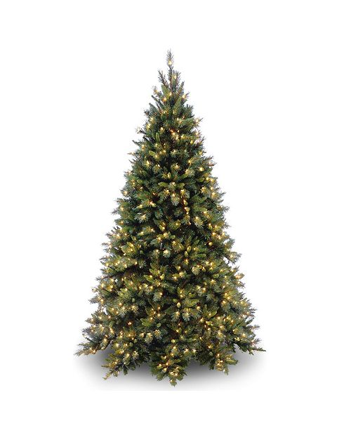 National Tree Company National Tree Tiffany Medium Fir Tree With 700 Clear Lights
