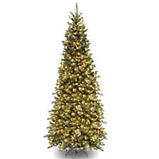 National Tree Tiffany Slim Fir Tree With 700 Clear Lights