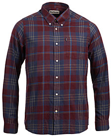 Barbour Mens Stapleton Plaid Shirt