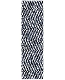 """Orian Cotton Tail Harrington 2'3"""" x 8' Runner Area Rug"""