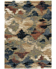 "Palmetto Living Next Generation Diamond Heather Sunshine 6'7"" x 9'8"" Area Rug"