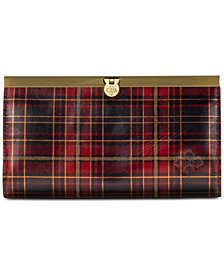 Patricia Nash Cauchy Tartan Plaid Leather Wallet
