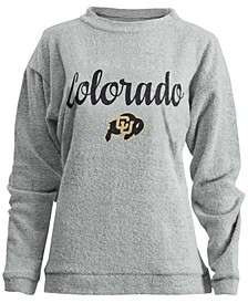 Women's Colorado Buffaloes Comfy Terry Sweatshirt