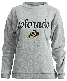 Pressbox Women's Colorado Buffaloes Comfy Terry Sweatshirt