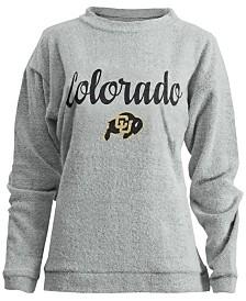 Pressbox Women's Colorado Buffaloes Comfy Terry Sweatshirt
