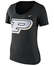 Nike Women's Purdue Boilermakers Dri-Blend Scoop T-Shirt