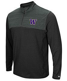 Colosseum Men's Washington Huskies Quarter-Zip Windshirt