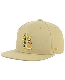 '47 Brand St. Louis Cardinals Khaki Snapback Cap