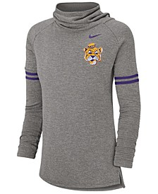 Women's LSU Tigers Funnel Neck Long Sleeve T-Shirt