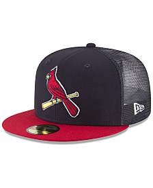 New Era St. Louis Cardinals On-Field Mesh Back 59FIFTY Fitted Cap