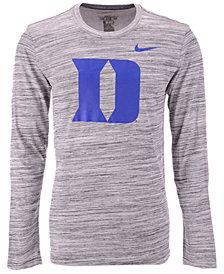 Nike Men's Duke Blue Devils Legend Travel Long Sleeve T-Shirt