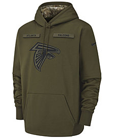 Nike Men's Atlanta Falcons Salute To Service Therma Hoodie