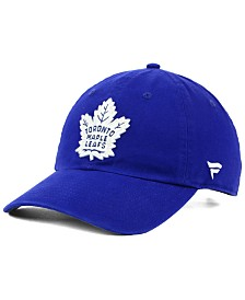 Authentic NHL Headwear Toronto Maple Leafs Fan Relaxed Adjustable Strapback Cap