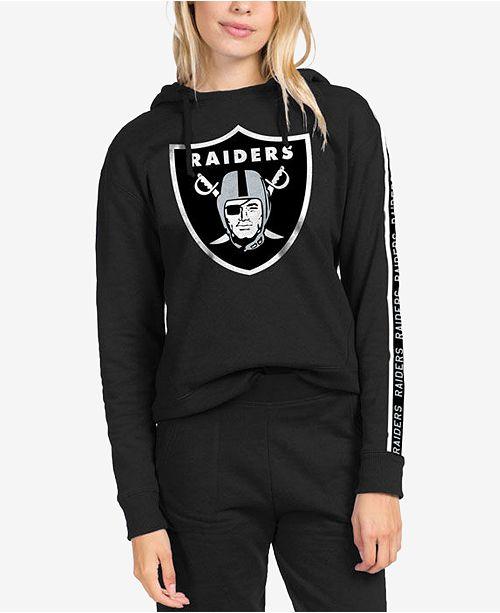 best website 432a1 92219 Authentic NFL Apparel Women's Oakland Raiders Liberty Fleece ...