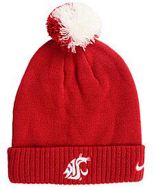 Nike Washington State Cougars Beanie Sideline Pom Hat