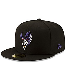Baltimore Ravens Logo Elements Collection 59FIFTY FITTED Cap