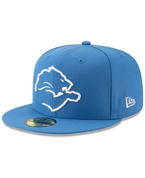 cdb3347e99f ... New Era Detroit Lions Logo Elements Collection 59FIFTY FITTED Cap ...