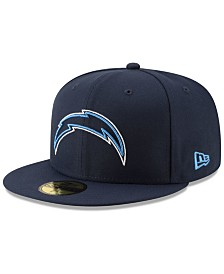 New Era Los Angeles Chargers Logo Elements Collection 59FIFTY FITTED Cap