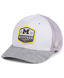 Top of the World Michigan Wolverines Hyjak Mesh Flex Stretch Fitted Cap