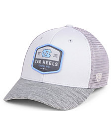 Top of the World North Carolina Tar Heels Hyjak Mesh Flex Stretch Fitted Cap