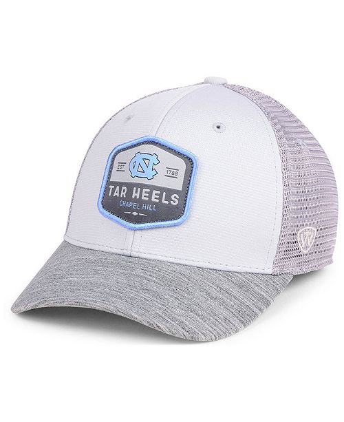 new style c8af4 2d306 Top of the World North Carolina Tar Heels Hyjak Mesh Flex Stretch Fitted Cap  ...