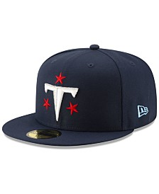 New Era Tennessee Titans Logo Elements Collection 59FIFTY FITTED Cap