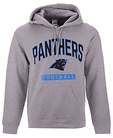 Authentic NFL Apparel Men's Carolina Panthers Gym Class Hoodie