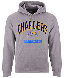 Authentic NFL Apparel Men's Los Angeles Chargers Gym Class Hoodie