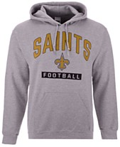 02693f1ad Authentic NFL Apparel Men s New Orleans Saints Gym Class Hoodie